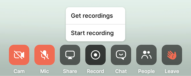 BOR - recording