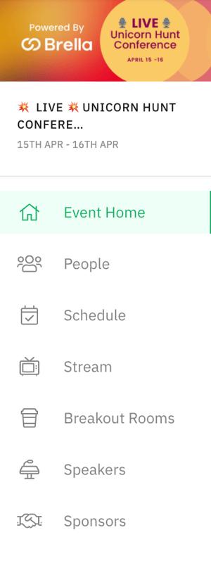 Event navigation