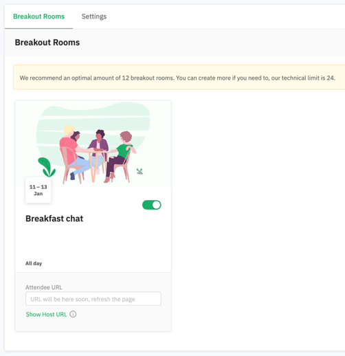 breakout room refresh page