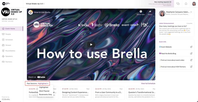 new brella home page