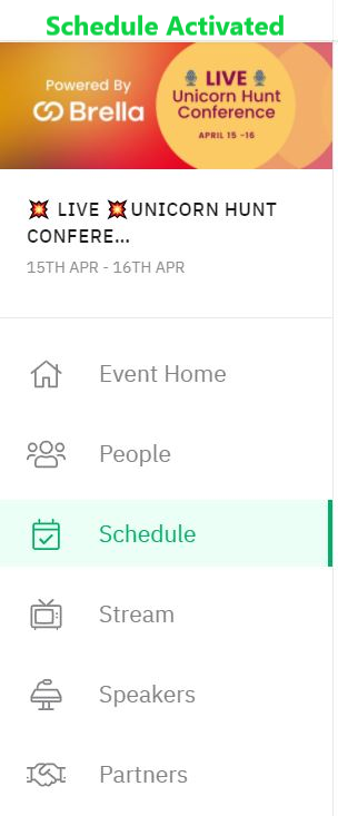Yes-schedule-in-panel