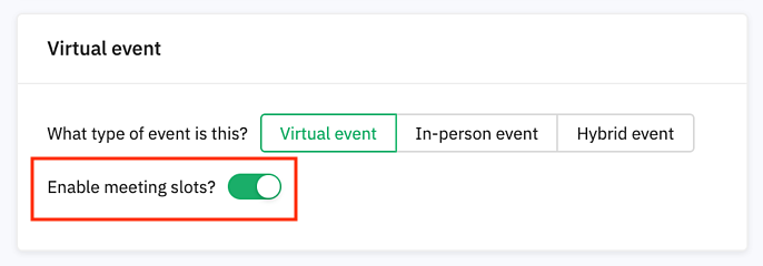 select event type and enable meeting slots2 copy